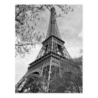 Eiffel tower Panorama Postcard