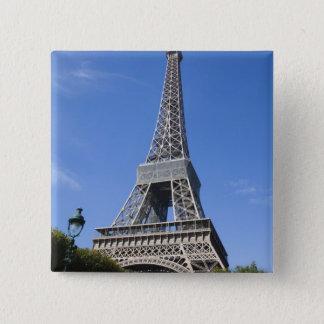 Eiffel Tower, Paris 15 Cm Square Badge