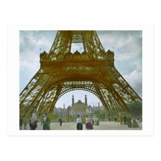 Eiffel Tower Paris 1900 Exposition Universelle Postcards