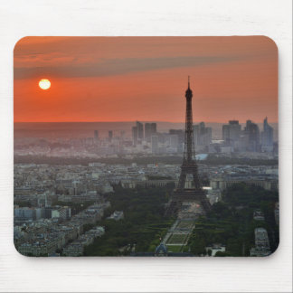 Eiffel Tower, Paris by Sunset Mouse Mat