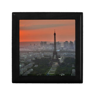 Eiffel Tower, Paris by Sunset Small Square Gift Box