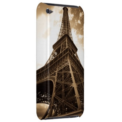 Eiffel tower Paris Barely There iPod Covers