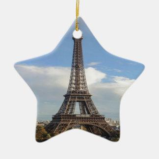 Eiffel tower Paris Christmas Ornament
