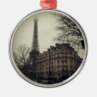Eiffel Tower Paris City Building Architecture Christmas Ornament