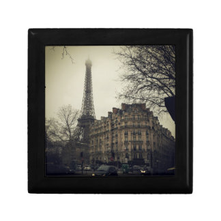 Eiffel Tower Paris City Building Architecture Small Square Gift Box