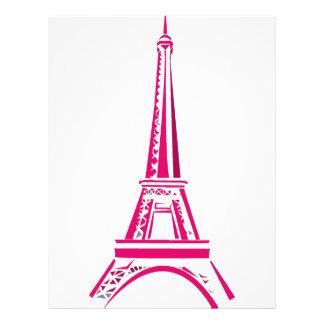 Eiffel Tower Paris 21.5 Cm X 28 Cm Flyer