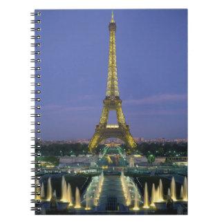 Eiffel Tower, Paris, France 2 Notebooks