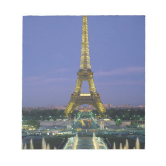 Eiffel Tower, Paris, France 2 Notepad