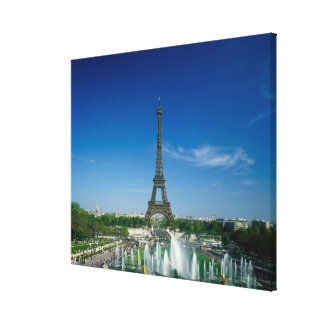 Eiffel Tower, Paris, France Canvas Print