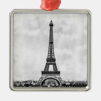 Eiffel Tower Paris France Christmas Ornament