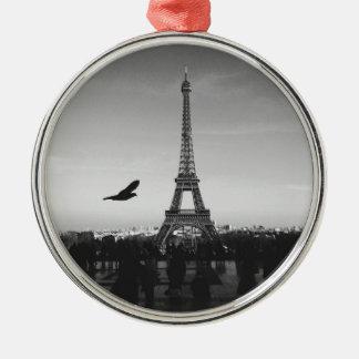 Eiffel Tower Paris France Christmas Ornament