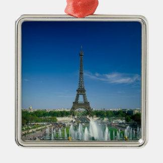 Eiffel Tower, Paris, France Christmas Ornament