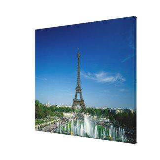 Eiffel Tower, Paris, France Gallery Wrap Canvas