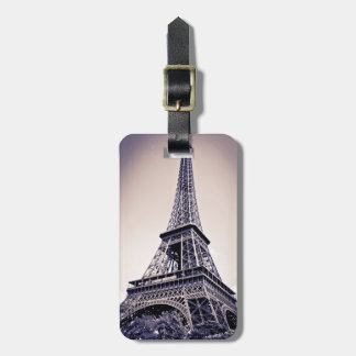 Eiffel tower, Paris, France Luggage Tag