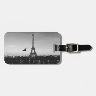Eiffel Tower Paris, France Luggage Tag