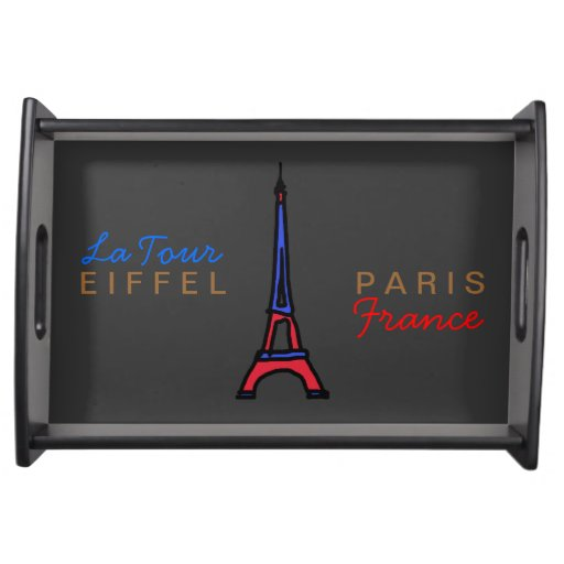 Eiffel Tower / Paris / France Serving Platter