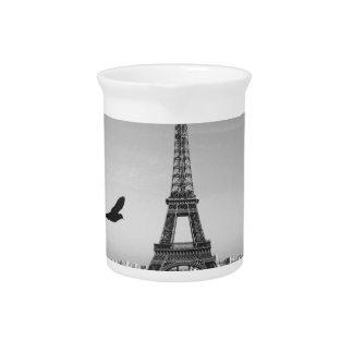Eiffel Tower Paris France Pitchers