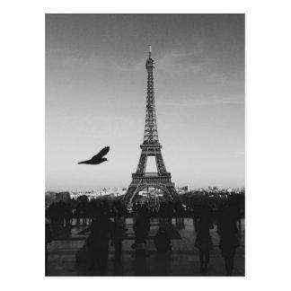 Eiffel Tower Paris, France Postcard