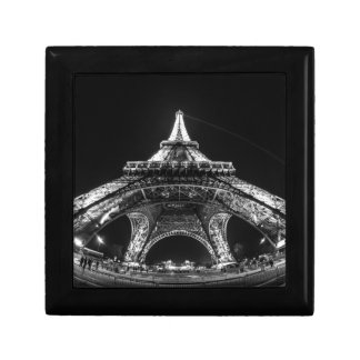 Eiffel Tower Paris France Small Square Gift Box