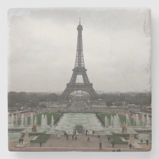 Eiffel Tower, Paris, France Stone Beverage Coaster