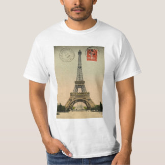 Eiffel Tower, Paris, France, Vintage Retro T-Shirt