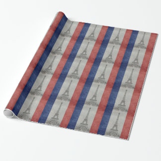 Eiffel tower, Paris France Wrapping Paper