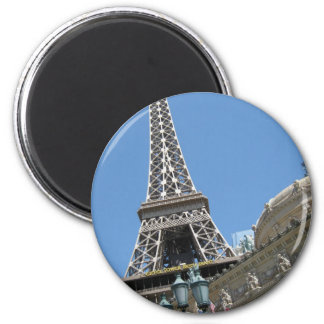 Eiffel Tower Paris Hotel Las Vegas 6 Cm Round Magnet