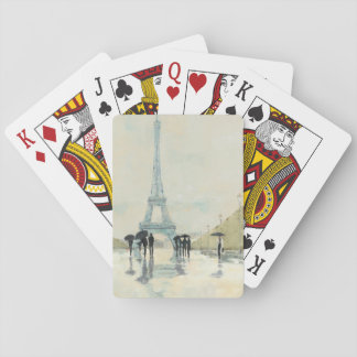 Eiffel Tower | Paris In The Rain Playing Cards