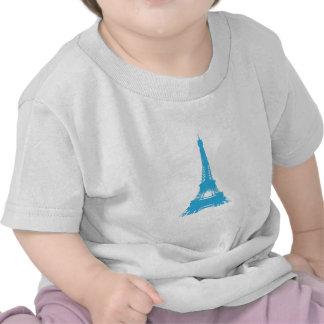 Eiffel Tower Paris Landmark Tee Shirts