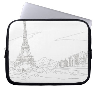 Eiffel Tower, Paris Laptop Sleeve