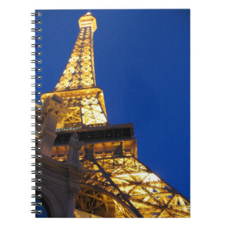 Eiffel Tower, Paris, Las Vegas, Nevada notebook