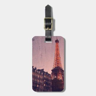 Eiffel Tower - Paris - Luggage Tag