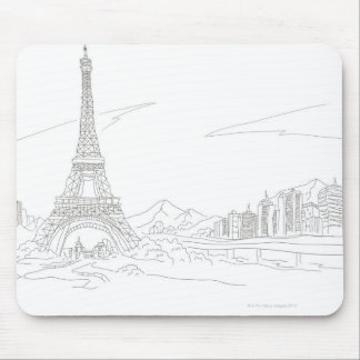 Eiffel Tower, Paris Mouse Pad