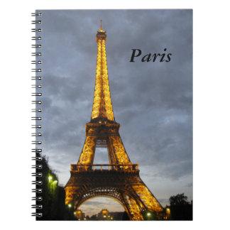 Eiffel Tower Paris Notebook