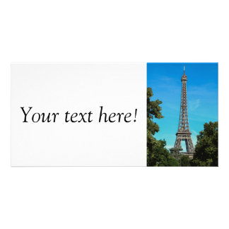 Eiffel tower, Paris Custom Photo Card