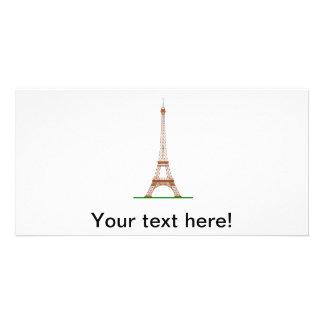 Eiffel Tower Paris Photo Card Template