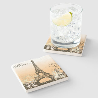 Eiffel Tower Paris Stone Coaster