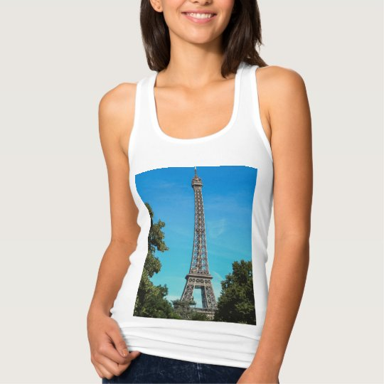 Eiffel tower, Paris Tank Top