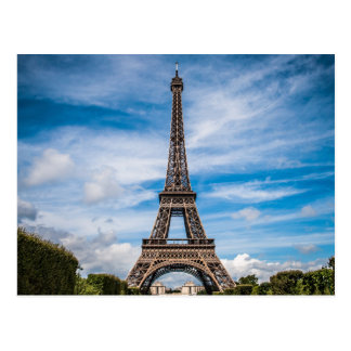 Eiffel Tower Paris Travel Postcard