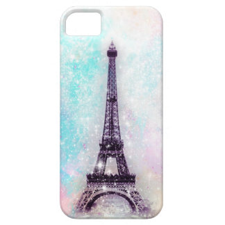 Eiffel Tower Pastel Barely There iPhone 5 Case