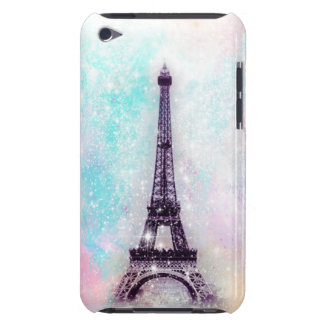 Eiffel Tower Pastel Barely There iPod Cover