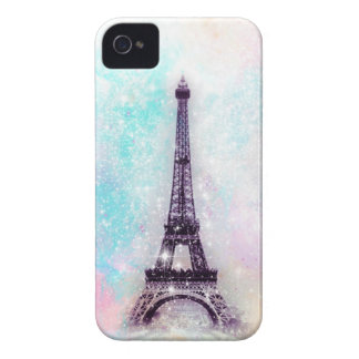 Eiffel Tower Pastel iPhone 4 Covers