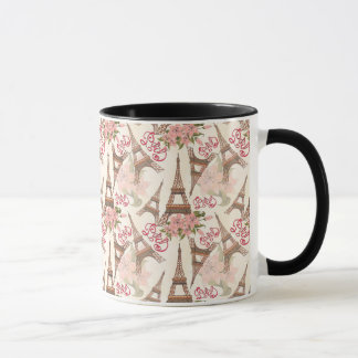 Eiffel Tower Pattern Mug