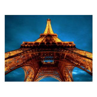 Eiffel Tower Perspective Postcard