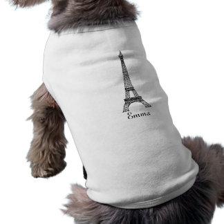 Eiffel Tower Pet Clothing