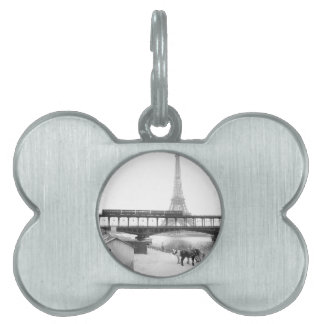 Eiffel Tower Pet Tag