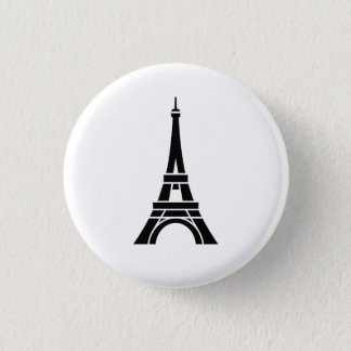 Eiffel Tower Pictogram Button