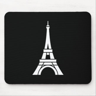 Eiffel Tower Pictogram Mousepad