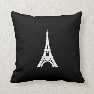 Eiffel Tower Pictogram Throw Pillow