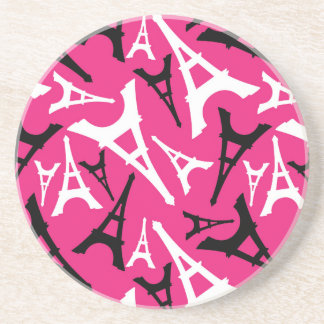 Eiffel Tower Pink Coaster